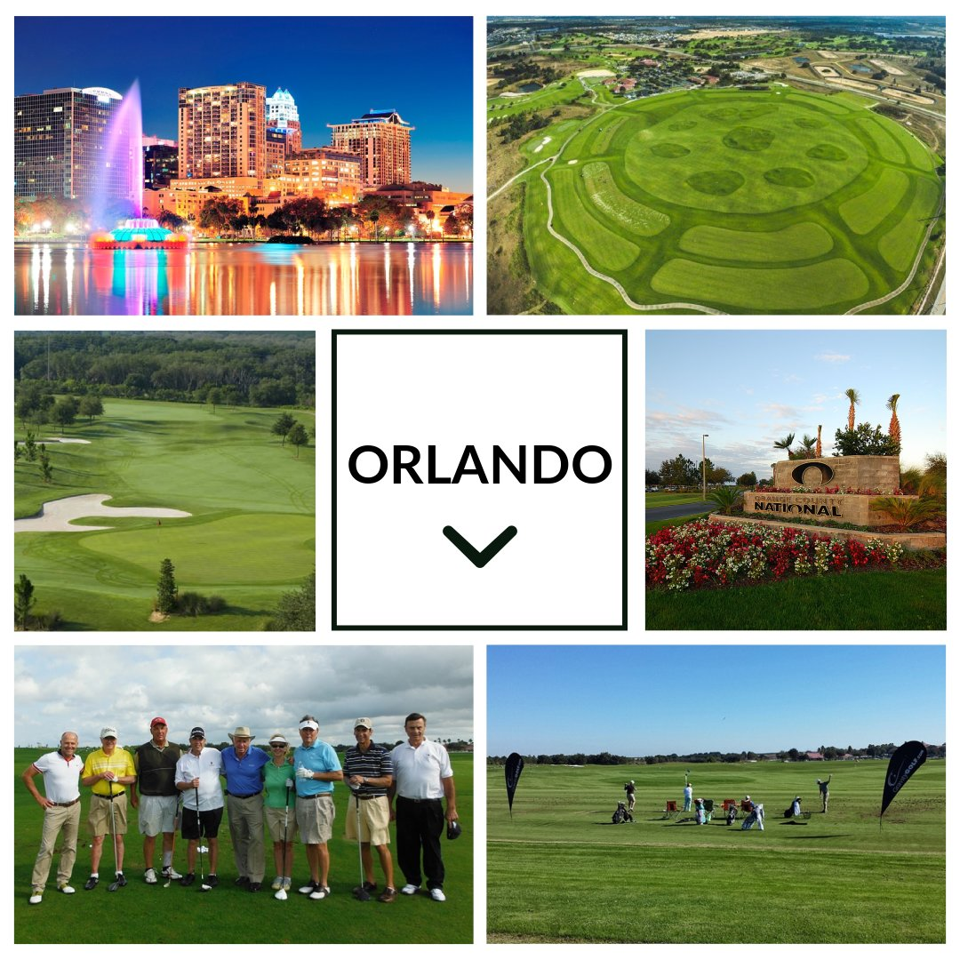Gravity Golf's home for 3 day golf schools is at Orange County National. The Orlando golf schools is one of the best things your could ever do for your golf swing.
