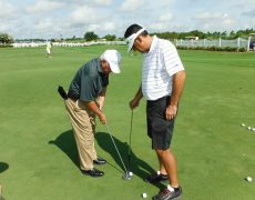 David-Lee-Teaching-Putting-on-the-Arc-to-Martin-at-the-Gravity-Golf-School-at-Orange-County-National