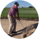 Sand Shots Made Easy Using Gravity Golf