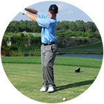 A golf swing made simple is best done through using the natural force of gravity.