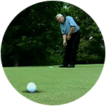 Develop Your Perfect Putting Stroke Using Gravity